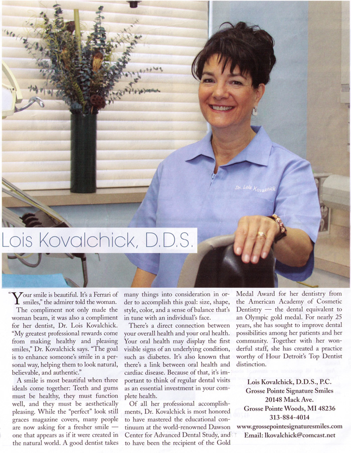 Dr. Kovalchick in the Press
