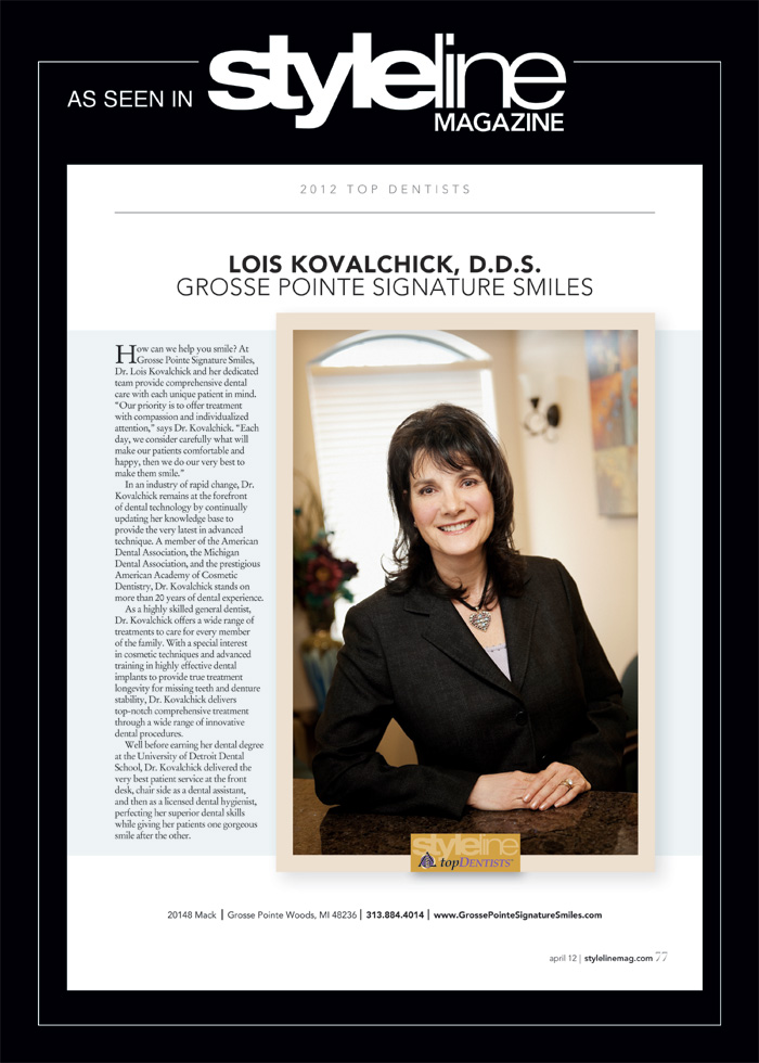 Dr. Kovalchick in the Press - StyleLine 2012